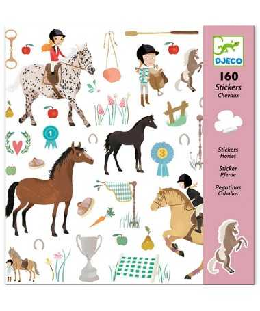 Stickers - Les chevaux
