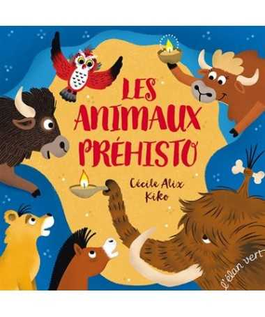Livre Album - Les animaux préhisto