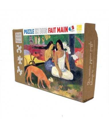 Puzzle en bois - Gauguin - Area Area (12 pcs)