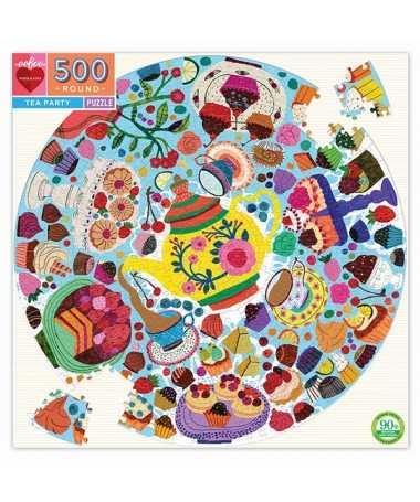 Puzzle - Tea Party (500 pcs)
