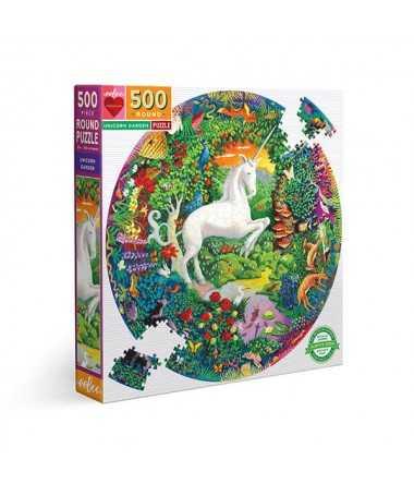 Puzzle - Unicorn Garden (500 pcs)
