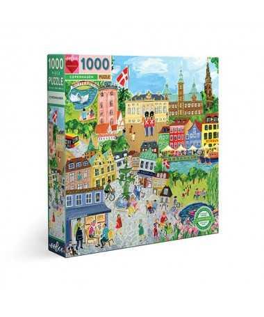 Puzzle - Copenhagen (1000 pcs)