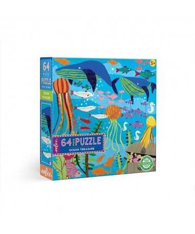 Puzzle - Trésors sous marins (64 pcs)