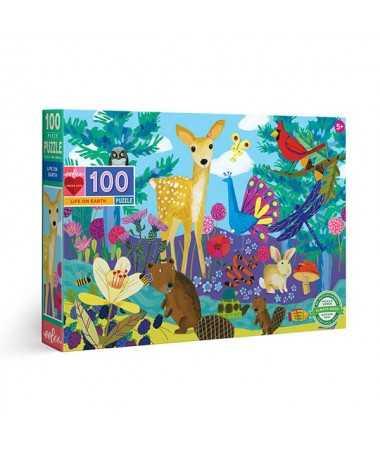 Puzzle - La vie sur Terre (100 pcs)