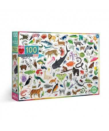 Puzzle - Monde merveilleux (100 pcs)