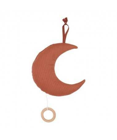 Boite à musique Lune - Pure Rust