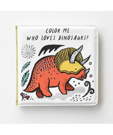 Livre de bain Magique - Color Me - Dinosaurs