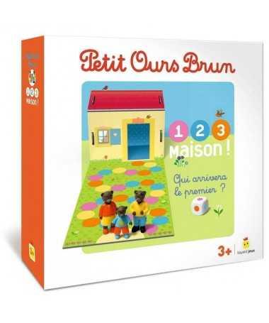Petit Ours Brun - 1, 2, 3 Maison