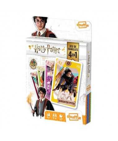 Jeu de familles 4 en 1 Harry Potter