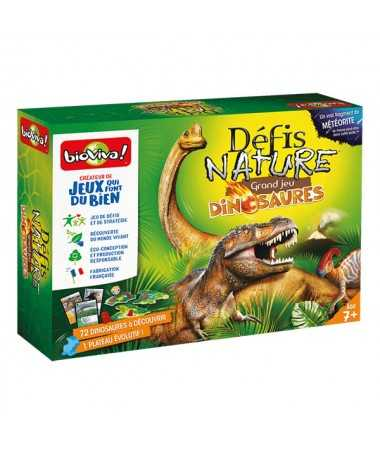 Défis Nature - Grand jeu Dinosaures