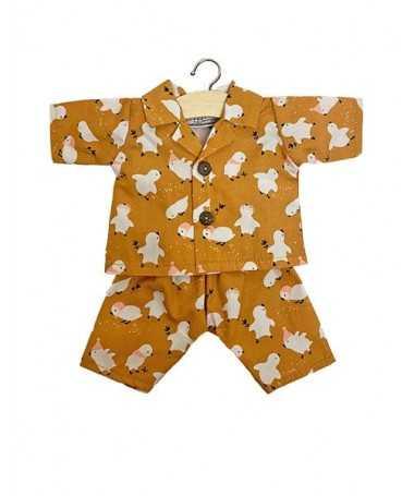 Pyjama en coton - Little chick - Poupée Gordis