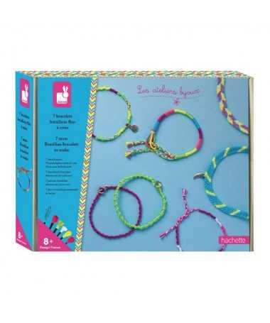 7 bracelet brésiliens fluos à créer