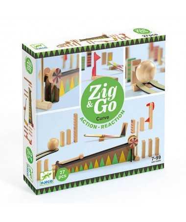 Parcours Zig & Go - Big ball 27 pièces