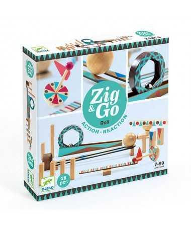 Parcours Zig & Go - Roll 28 pièces