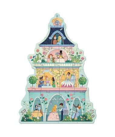 Puzzle géant - La tour des princesses (36 pcs)