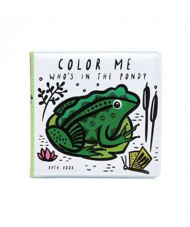 Livre de bain magique Color Me - Pond - Wee Gallery