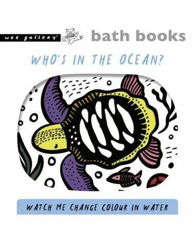 Livre de bain magique Color Me - Ocean - Wee Gallery
