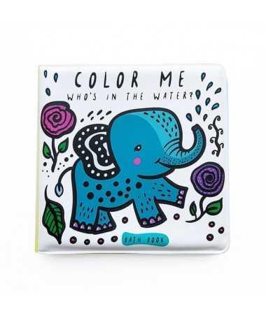 Livre de bain magique Color Me - Water - Wee Gallery