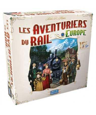 Les Aventuriers du Rail - Europe : 15ème Anniversaire