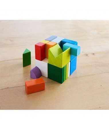 Jeu d'assemblage 3D - Cubes mix