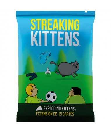 Exploding Kittens ext. Streaking Kittens