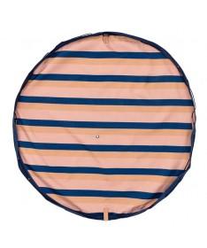 Outdoor - Tapis et sac de jeu - Rayures Mokka