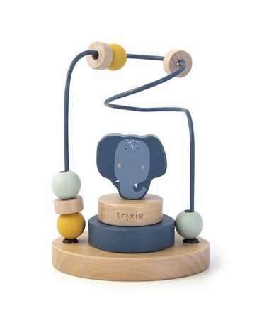 Circuit de perles en bois - Mrs. Elephant - FSC