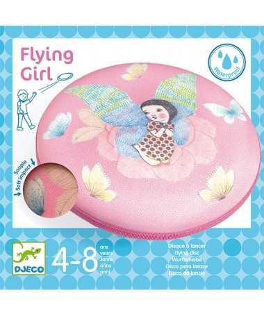 Disque à lancer - Flying Girl