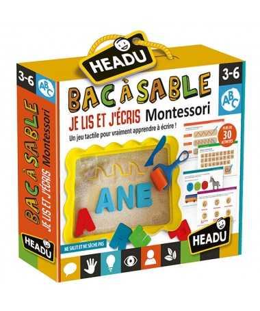 Bac à Sable je Lis er j'écris Montessori