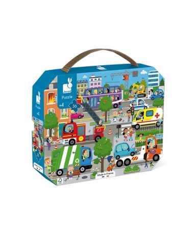 Puzzle - City (36 pcs)