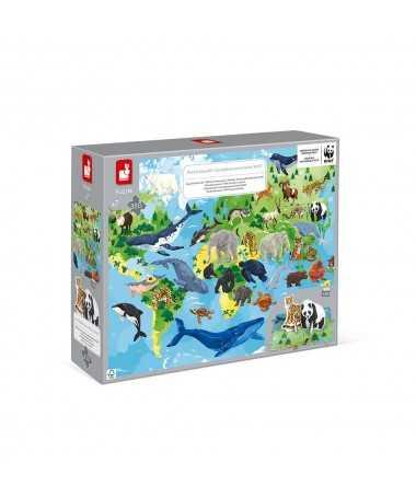 Puzzle éducatif - Espèces prioritaires WWF (350 pcs)