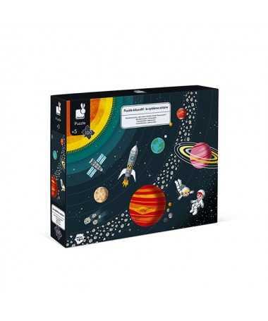 Puzzle éducatif - Système solaire (100 pcs)