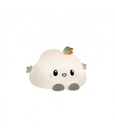 Nuage veilleuse tactile en silicone - Noa le nuage