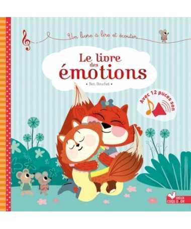 Le livre des émotions - livre sonore