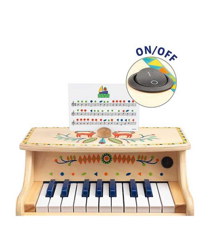 Piano électronique avec partitions - 18 clés