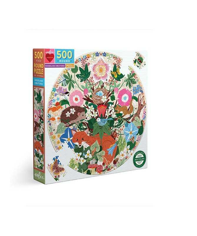 Puzzle - Woodland creatures (500 pcs)