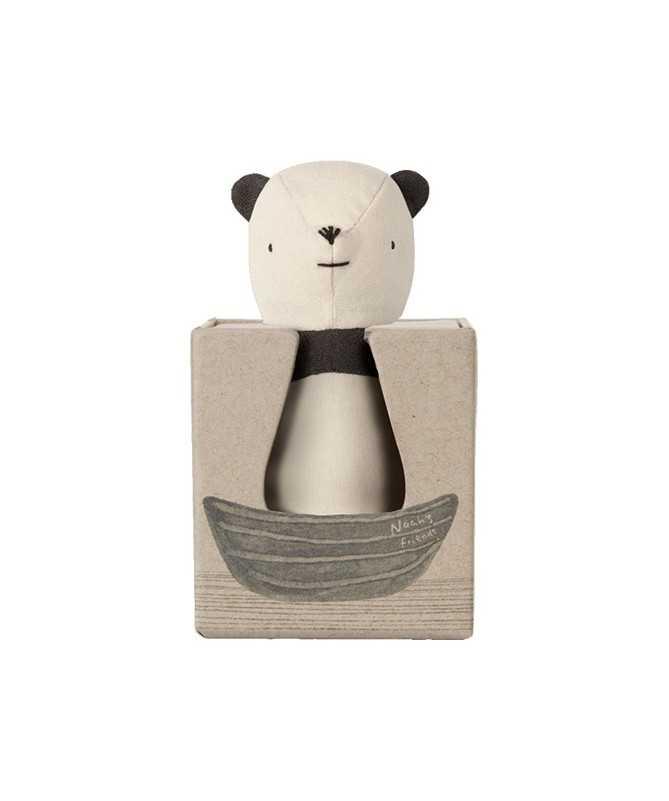 Hochet Panda en Lin - Maileg