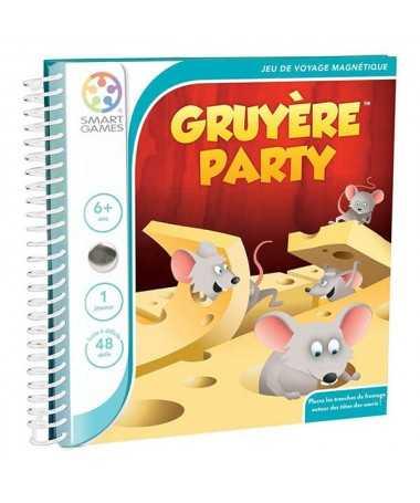 Gruyère Party - Jeu de voyage magnétique