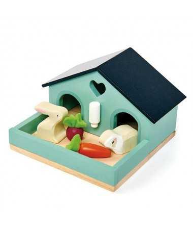 Set lapin - Maison de Poupées - figurines