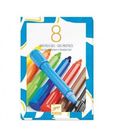 8 pastels gel - Classique
