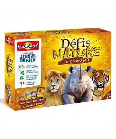 Le Grand Jeu Défis Nature + cartes collector