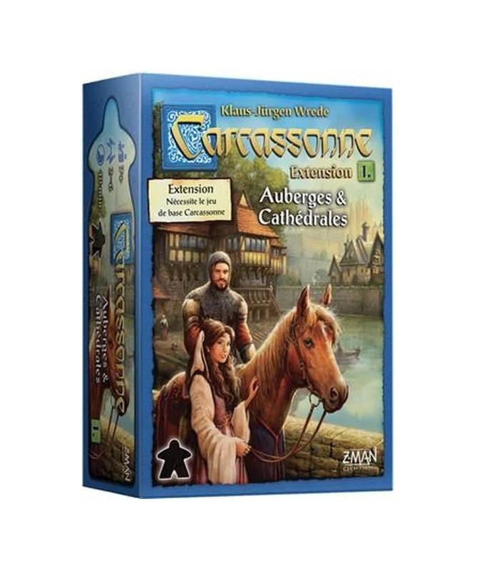 Carcassonne ext. Auberges & cathédrales