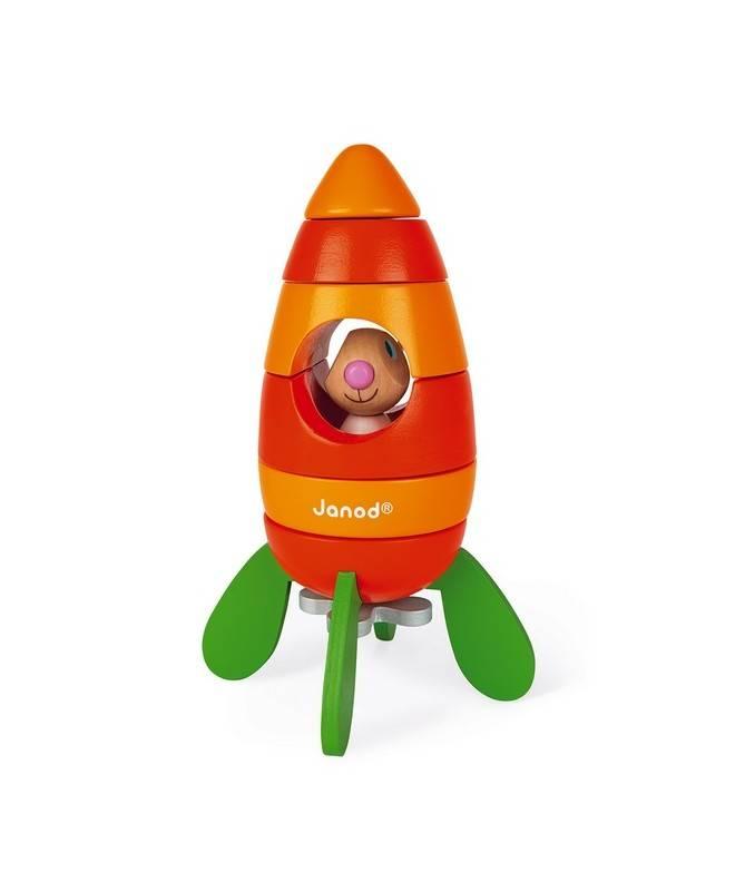 Fusée carotte magnétique