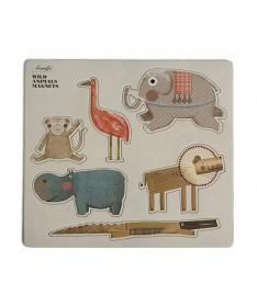 Magnets animaux sauvages