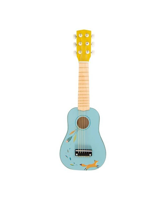 Guitare bois – Le Voyage d'Olga