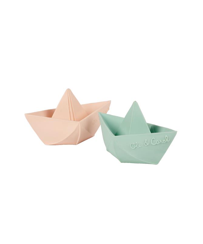 Jouet de bain Bateau Origami Nude