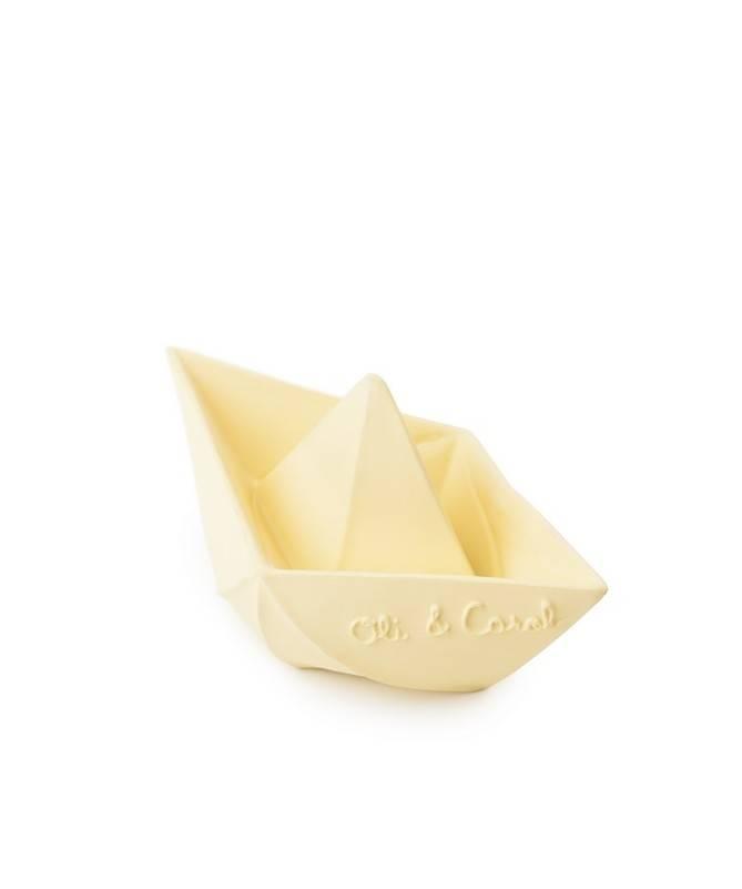 Jouet de bain Bateau Origami Vanille