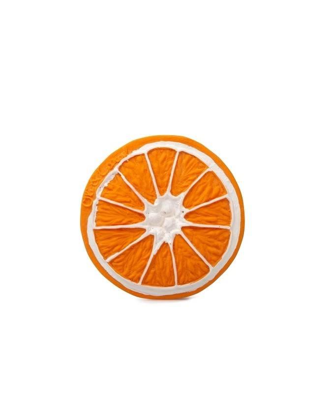 Jouet de dentition Clementino l'orange