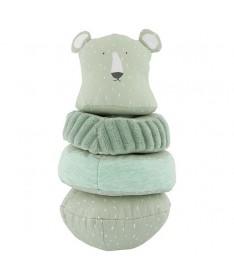 Jouet Culbuto tissu Mr Polar Bear