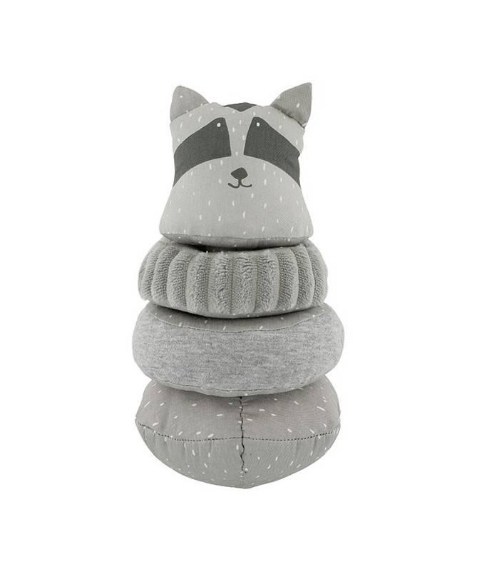 Jouet Culbuto tissu Mr Raccoon